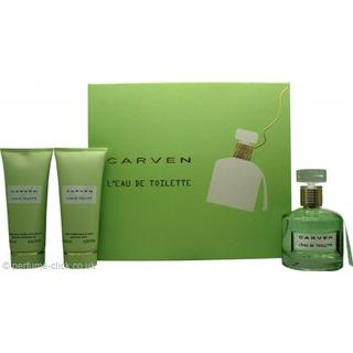 Carven L'Eau de Toilette Gift Set EdT 100ml + Body Cream 100ml + Shower Gel 100ml