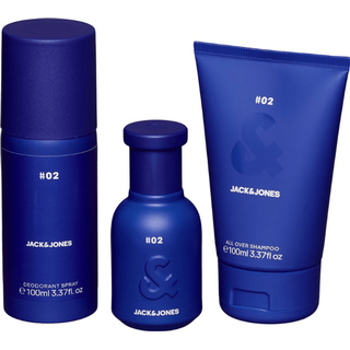 Jack & Jones #2 Blue Gift Set EdT 40ml + Deo Spray 100ml + Shampoo 100ml