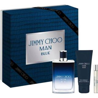 Jimmy Choo Man Blue Gift Set EDT 100ml + Mini EDT 7.5ml + After Shave Balm 100ml