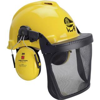 3M Forestry Protection Helmet with Integrated Visor