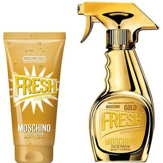Moschino Fresh Gold Gift Set EdP 30ml + Body Lotion 50ml