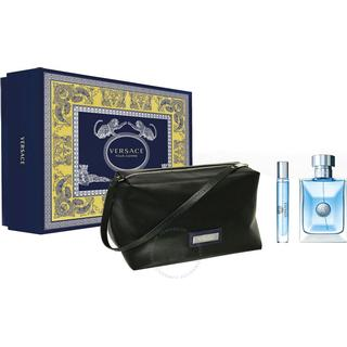 Versace Pour Homme Gift Set EdT100ml + EdT 10ml + Toiletry Bag
