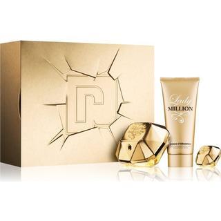 Paco Rabanne Gift Sets Lady Million EdP 80ml + Body Lotion 100ml + EdP 5ml