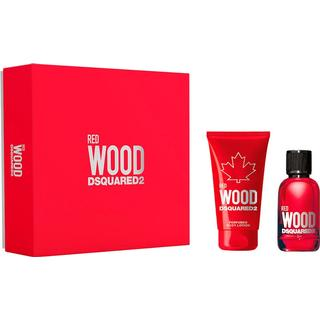DSquared2 Red Wood Pour Femme Gift Set EdT 30ml + Body Lotion 50ml
