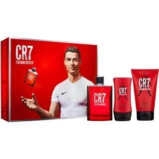 Cristiano Ronaldo CR7 Gavesæt EdT 100ml + Shower Gel 150ml + Aftershave Balm 100ml