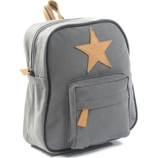 Smallstuff Canvas Backpack - Dark Grey