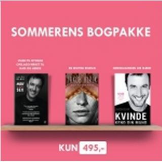 En erotisk bogpakke: Sommerkampagne med tre bøger om sex