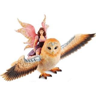 Schleich Fairy in Flight on Glam Owl 70713