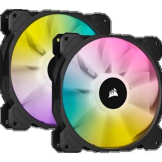 Corsair iCUE SP140 RGB Elite 2-Pack
