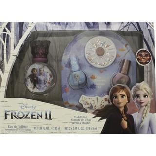 Disney Frozen II Gift Set EdT 30ml + 2x5ml Nail Polish + Nail Gems