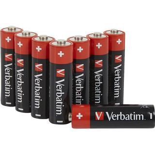 Verbatim AA Alkaline Compatible 8-pack