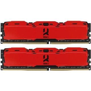 GOODRAM IRDM X Red DDR4 3200MHz 2x8GB (IR-XR3200D464L16SA/16GDC)