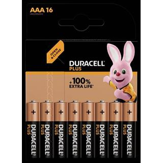 Duracell AAA Plus 16-pack