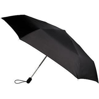 Fulton Superslim-1 Open & Close Umbrella Black