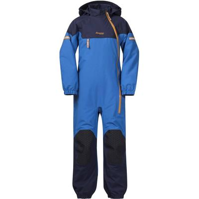 Bergans Ruffen Insulated Kids Coverall - Athens Blue/Navy/Desert