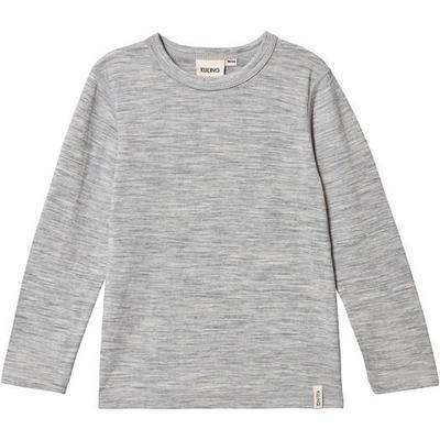 Kuling Wool Tee - Grey Melange (481673)