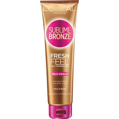 L'Oreal Paris Sublime Bronze Fresh Feel Self Tanning Gel 150ml