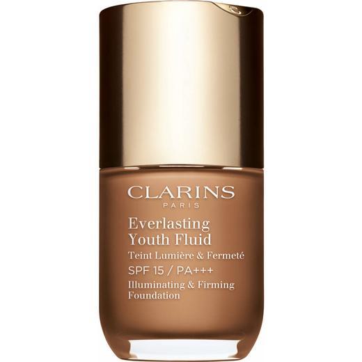 Clarins Everlasting Youth Fluid SPF15 PA+++ #115 Cognac