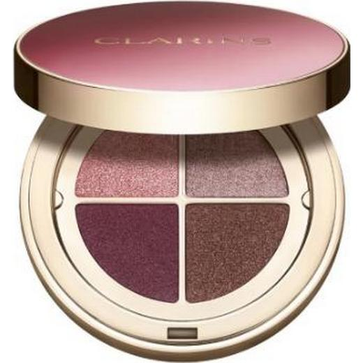Clarins Ombre 4-Colour Eyeshadow Palette #02 Rosewood