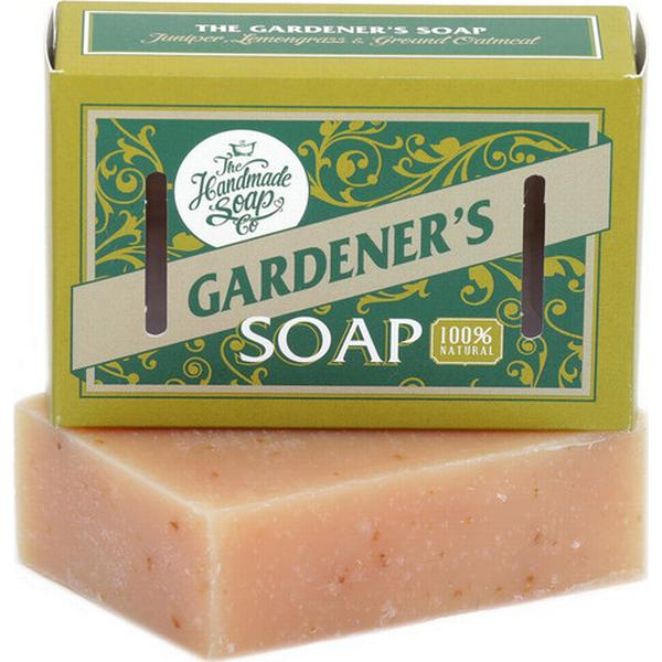 The Handmade Soap Gardener's Soap Juniper Lemongrass & Ground Oatmeal 160g
