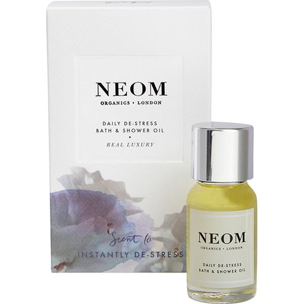 Neom Organics Real Luxury Daily De-Stress Bath & Shower Oil 10ml