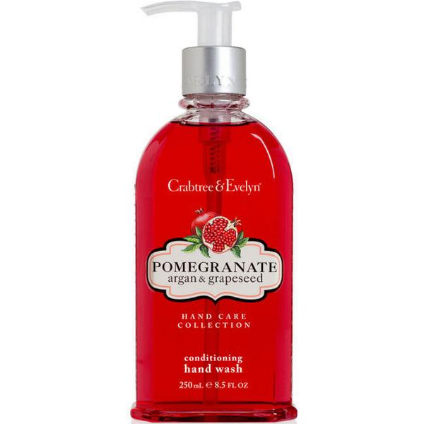 Crabtree & Evelyn Pomegranate Argan & Grapeseed Conditioning Hand Wash 250ml