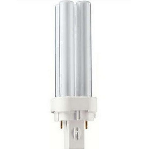 Philips Master PL-C Xtra Fluorescent Lamp 18W G24D-2 830