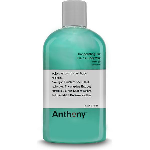 Anthony Invigorating Rush Hair & Body Wash 355ml