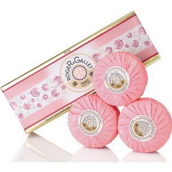 Roger & Gallet Rose Soap Coffret 3-pack