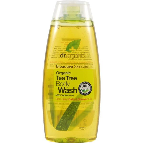 Dr. Organic Tea Tree Body Wash 250ml