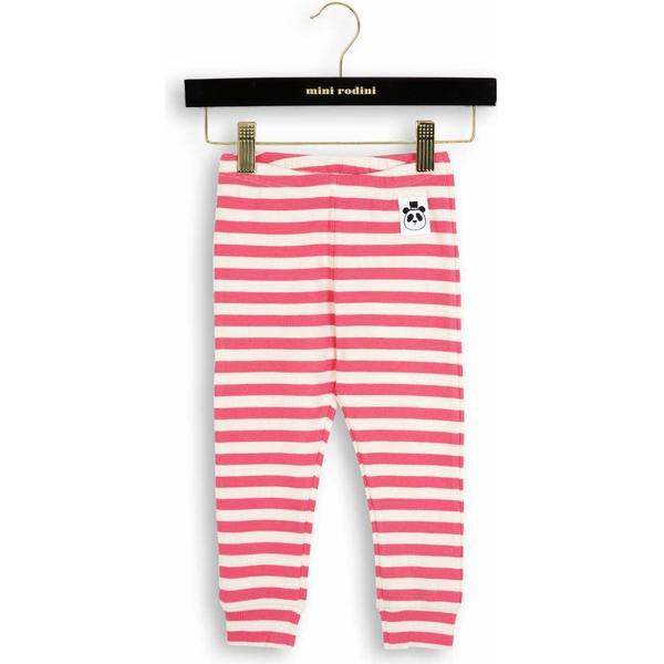 Mini Rodini Rib Leggings - Pink