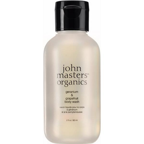 John Masters Organics Geranium & Grapefruit Body Wash 60ml