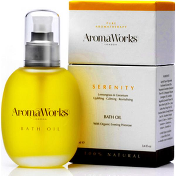 Bath and Unwind AromaWorks Serenity Bath Oil 100ml