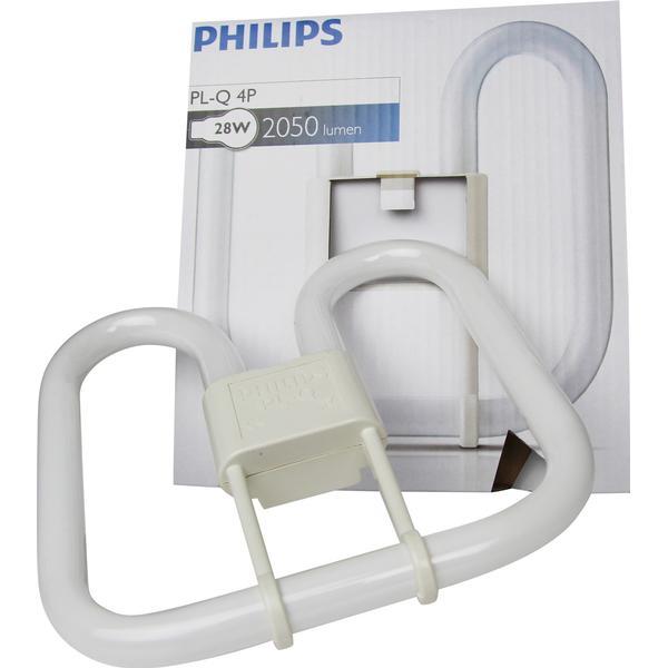 Philips PL-Q Fluorescent Lamp 28W GR8 840