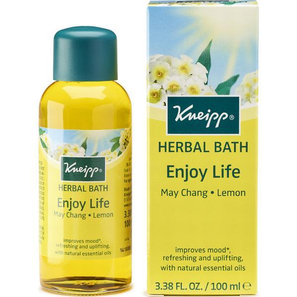 Kneipp Enjoy Life Herbal Lemon & May Chang Bath Oil 100ml