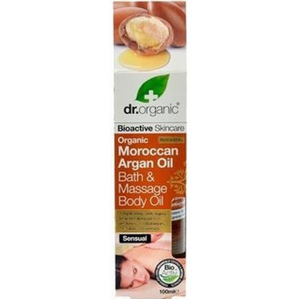 Dr. Organic Massage Body Bath Oil Argan 100ml