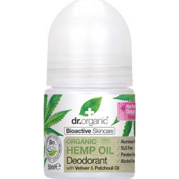 Dr. Organic Deo Roll-on Hampaolja 50ml