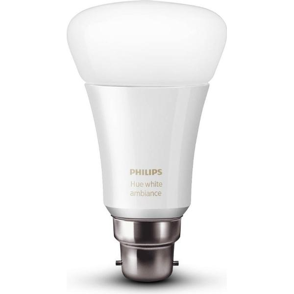Philips Hue White Ambiance LED Lamp 9.5W B22 Wireless Control