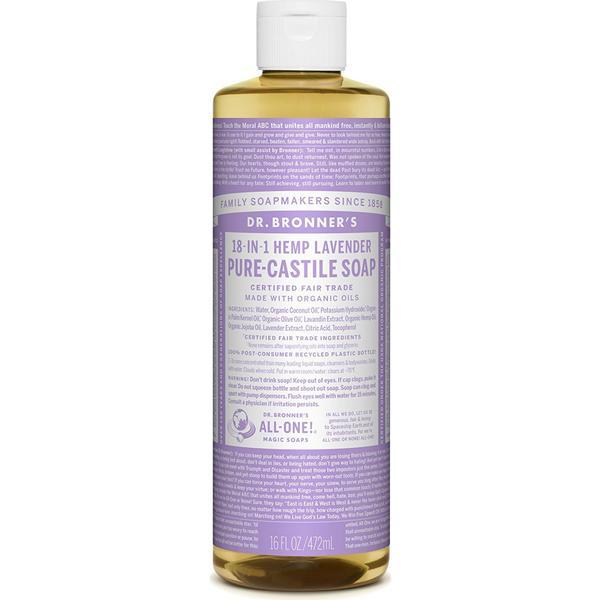 Dr. Bronners Liquid Soap Lavender 472 ml