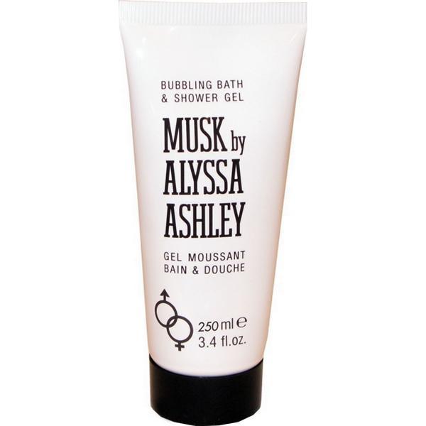 Alyssa Ashley Musk Bubbling Bath & Shower Gel 250ml
