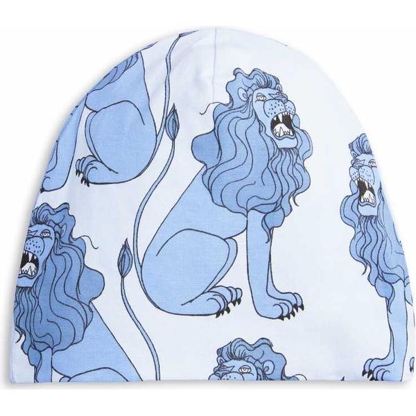 Mini Rodini Lion Beanie Hue - Light Blue