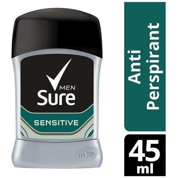Sure Men Sensitive Dry Antiperspirant Deo Stick 50ml