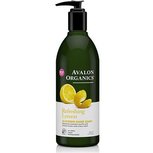 Avalon Organics Refreshing Lemon Glycerin Hand Soap 355ml