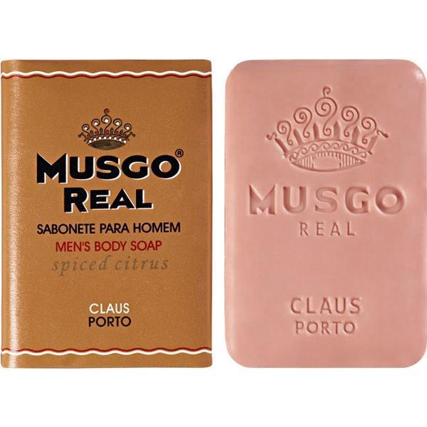 Claus Porto Musgo Real Spiced Citrus Mens Body Soap 160g