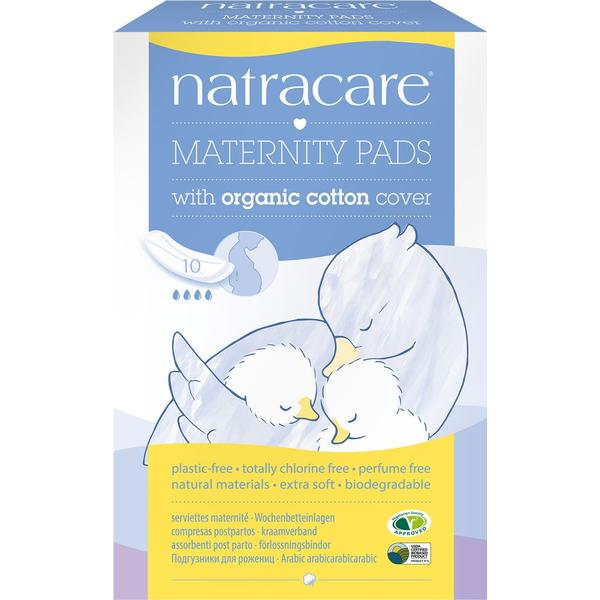 Natracare Maternity Pads 10-pack