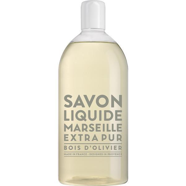 Compagnie de Provence Savon De Marseille Extra Pur Liquid Soap Olive Wood 1000ml Refill