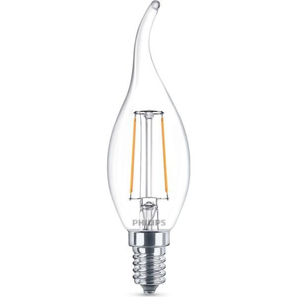 Philips Candle LED Lamp 2W E14