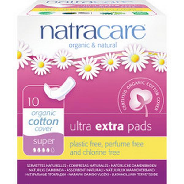 Natracare Ultra Extra Pads Super 10-pack