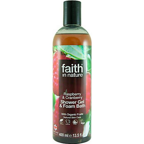 Faith in Nature Raspberry & Cranberry Shower Gel 400ml