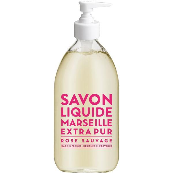 Compagnie de Provence Savon De Marseille Extra Pur Liquid Soap Wild Rose 500ml